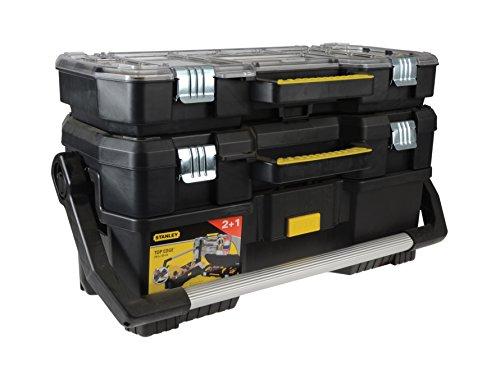 Preisvergleich Produktbild STANLEY STST1-70737 Werkzeugkofferset 3 tlg. 24'