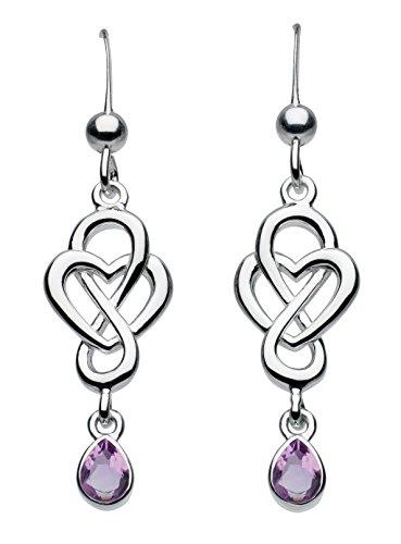 heritage-sterling-silver-and-amethyst-celtic-looped-heart-drop-earrings