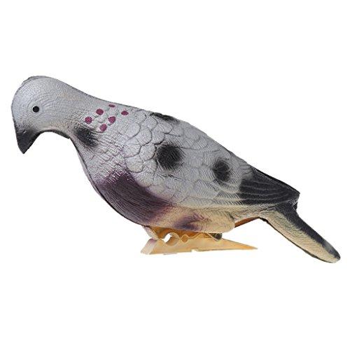 Ranuw Künstliche Taube 3D Training Target Bogenschießen Jagd Schleife EVA-Schaum Köder (Tier-ziele)