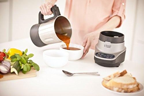 Russell Hobbs 21480-56 Soup und Blend mit 8 Kochprogrammen silber / schwarz - 6