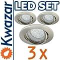K-15 Einbaustrahler Einbauspot GU10 230V Farbe Antik Gold. Ideal für LED und Halogen. von Kwazar Leuchte auf Lampenhans.de