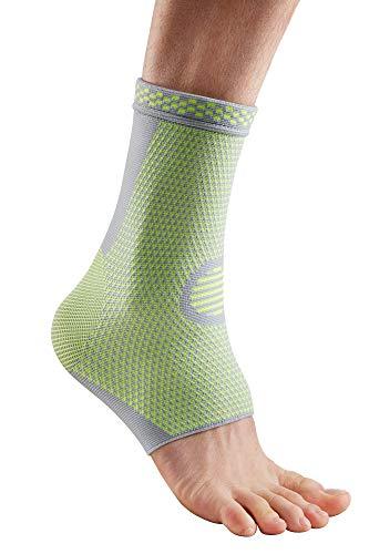 health & harmony® Die Fuß- und Sprunggelenk-Bandage Body Line mehr Schutz & Sicherheit für Ihre Füße verringert Schwellungen & Lymphe rund um den Knöchel Links rechts L