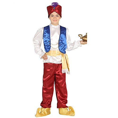 Kinderkostüm Kleiner Muck Orient Märchen 1001 Nacht Aladin Prinz Fasching (140/152)