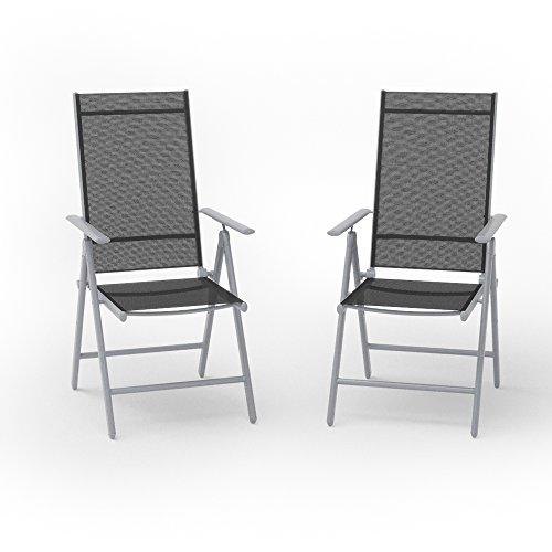 2er-Set-Alu-Gartenstuhl-Klappstuhl-Hochlehner-Campingstuhl-Aluminium-Liegestuhl
