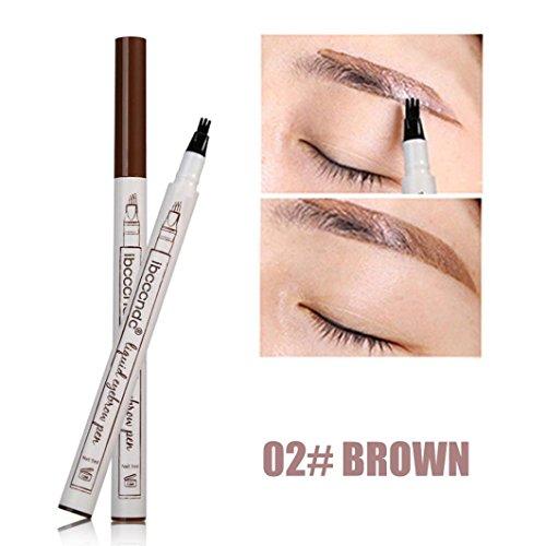 (CLOOM 3 X 3 Farben Augenbrauenstift/Brauenstifte, Automatisch Wasserdicht EyeBrow Pencil, Make Up Stift Eyeline Augenbrauenstift, Long Lasting Augenbraue Stift Set Augenbraue Powder Makeup Set (B))