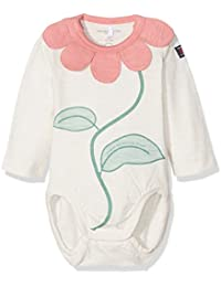 Polarn O. Pyret Baby Girls' Flower Collar Bodysuit