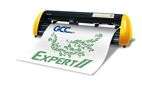 GCC Expert II EX II-24 Schneideplotter Gelb/Schwarz