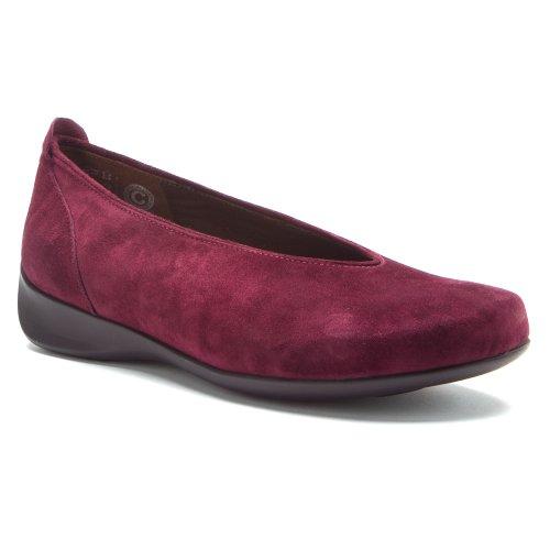Laccio Wolky scarpe, 6286 squallido Stroll Blu (180 dunkelblau Nubukleder)