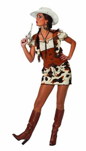 Stekarneval - Disfraz de cowgirl para mujer, talla 40 (455440)
