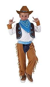 Rubies- Disfraz Vaquero, M (5-7 años) (Rubie