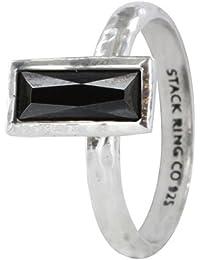 Prima Vintage Stack Ring - Black Widow