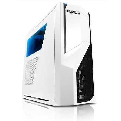 iBUYPOWER Phantom FX Gamer PC - AMD FX-8370 - 8GB DDR3/1866MHz - AMD Sapphire R9 390 8GB (Weiß)