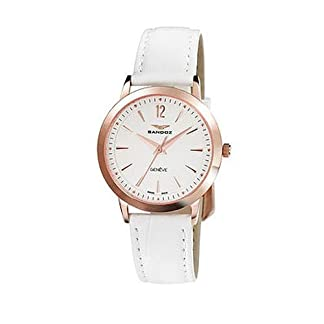Reloj Sandoz Diver 81298-90 Mujer Blanco