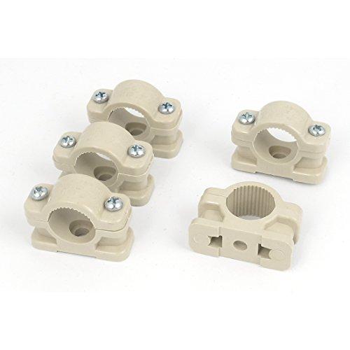 sourcingmapr-18mm-dia-perno-pared-basado-plastico-tubo-clip-abrazadera-cierrante-caqui5pcs