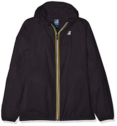 K-way claude cappotto, nero (black k02), 152 (taglia produttore:12 anni) bambino