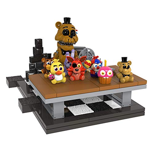 FIVE NIGHTS AT FREDDY'S McFarlane Toys Office Desk Golden Freddy Constructio