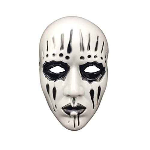 Slipknot Kostüm Maske - JZTRADING Maske Für Kinder Slipknot Joey Für Erwachsene Für Kostüm Für Party Halloween-Maske Halloween Requisiten Black White