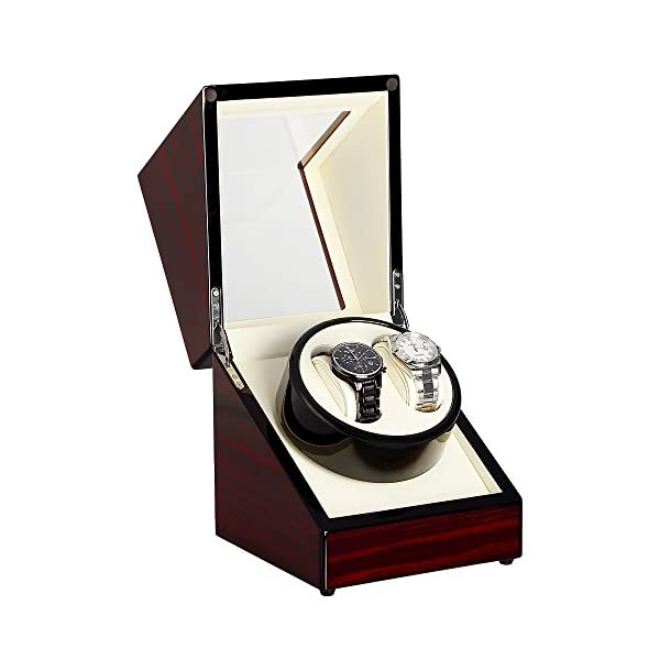 Automatic Watch Winder Box Luxury Wooden Storage Case 41bNUjSYLNL
