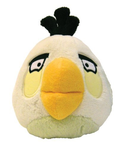 "Angry Birds - White Bird Plush - 18cm 6"""