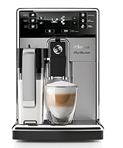 Philips PicoBaristo - coffee makers (Freestanding, Fully-auto, Espresso machine, Coffee beans, Coffee, Black, Stainless