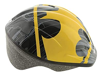Batman Boys Safety Helmet, Black, 52-56cm by MV Sports & Leisure