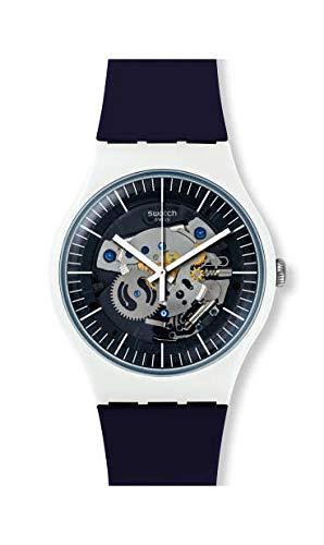Swatch Orologio Analogico Quarzo Unisex Adulto con Cinturino in Silicone SUOW156
