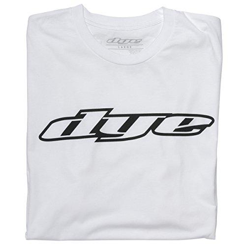DYE Erwachsene T-Shirt Logo Weiß