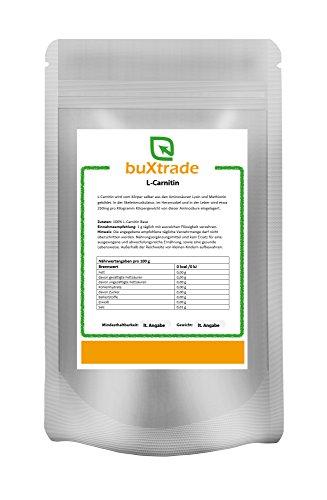 100 g L-Carnitin Base | Pulver | Aminosäure | Nutrition