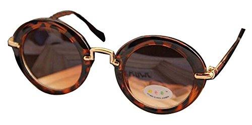 Arbeiten Sie reizende Kind-Sonnenbrille mit runden Gläsern und coole Sonnenbrill -