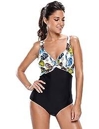 d8ffd9044740 WYN123 Europa e Stati Uniti Costumi da Bagno Moda Stampa a Caldo Stampa Bikini  Girocollo Senza