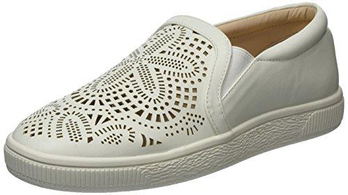 La Strada Damen 964128 Sneakers Weiß (White)