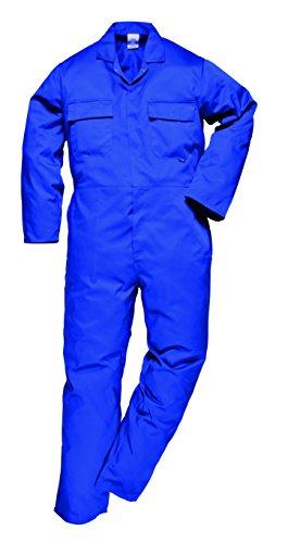 Portwest da uomo Euro lavoro in policotone tuta (S999)/Workwear Royal XXXL