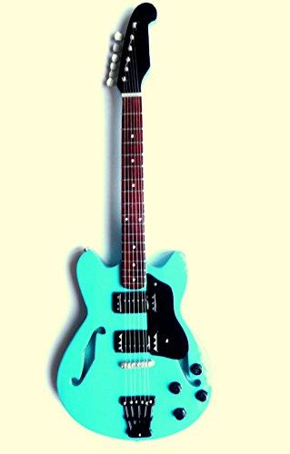Guitarra en miniatura decorativa Guitarra Guitar Gibson 26cm mano de madera # 129