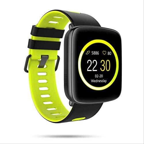 IRFKFTOrologio intelligenteGv68 Smartwatch Ip68 Bluetooth Impermeabile Android iOS Cardiofrequenzimetro Pedometro per videocamera...