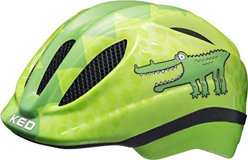 KED Meggy II Trend Helmet Kids Green Croco Kopfumfang S/M | 49-55cm 2018 Fahrradhelm