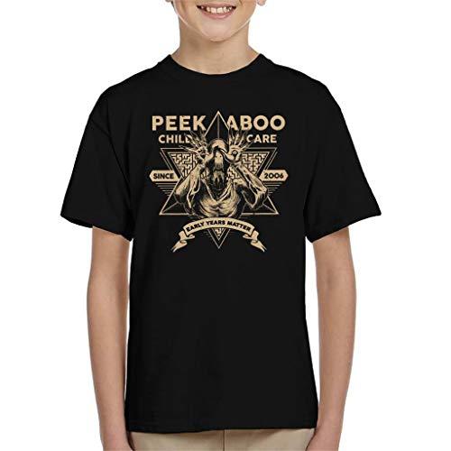 Kunst Pop Kostüm Kultur - Peek A Boo Child Care Pans Labyrinth Kid's T-Shirt