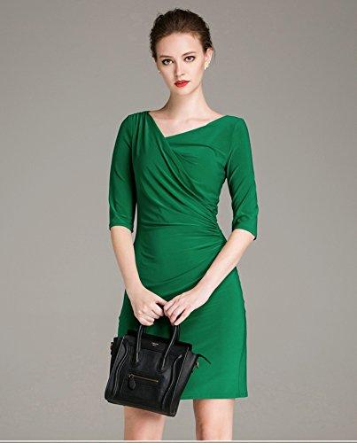 Sarah Dean Newyork - Robe - Robe - Femme vert Green green