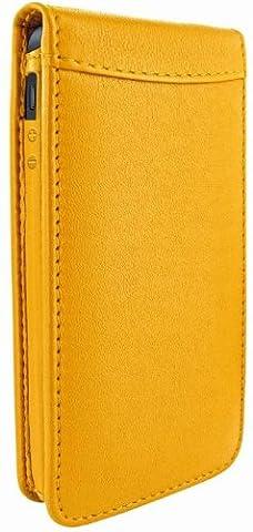 Piel Frama Magnetic Etui en cuir pour iPhone 5/5S Jaune