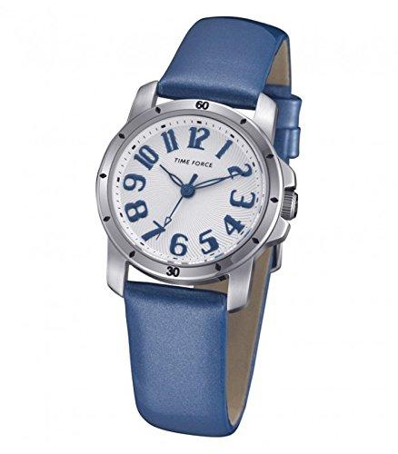 e38eff13367c TIME FORCE Reloj Analógico para Mujer de Cuarzo con Correa en Cuero  TF4064L03 ...