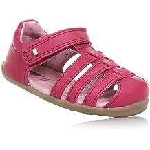 Bobux Step Up Girls Jump Sandals Dark Pink