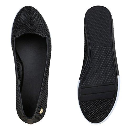 Rebite Senhora Deslizamento Pretos Sapatos Apartamentos Corte Sapatos Chinelo outs ons vvEZwqr