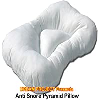 Luxury anti Snore piramide cuscino bianco puro