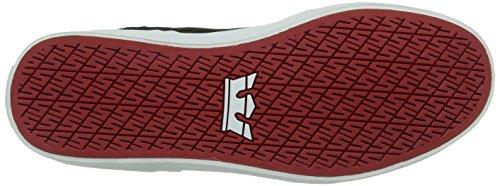 Supra SKYTOP Unisex-Erwachsene Hohe Sneakers Schwarz (BLACK/YELLOW - WHITE   BLY)