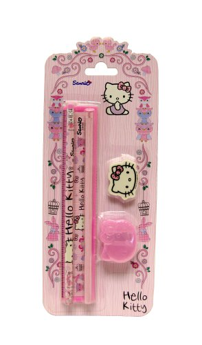 Tiere Stationery Set (Hello Kitty Bleistift Radiergummis)