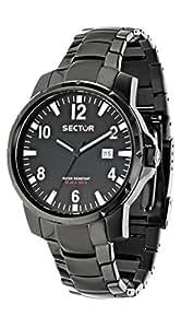 Sector - R3251197030 - Montre Homme - Quartz Analogique - Bracelet Tissu Bicolore