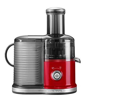 KitchenAid 5KVJ0332 Licuadora centrífuga 500W Rojo - Exprimidor Licuadora centrífuga, Rojo, 10000...