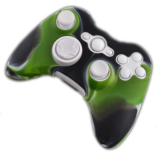 Silikonhülle für Xbox 360 Wireless Controller - Woodland Camo - Controller Wireless 360 Camo Xbox