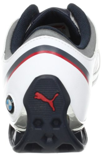 Puma Power Race BMW Motorsport Synthétique Baskets White-Puma Silver-Bm