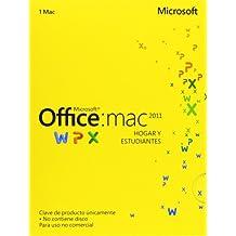 Microsoft Office 2011 - Paquete Hogar Y Estudio, Para Mac, 1 Licencia