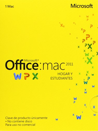 Microsoft - OFFICE MAC HOME&STUDENT 2011 STD 1 LICS